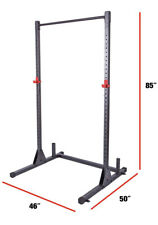 CAP Barbell Adjustable Power Rack Exercise Squat Stand Bench Press Home GYM