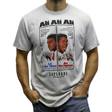 Superare x Ali The Fighter T-Shirt - Silver