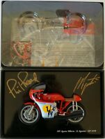 GIACOMO AGOSTINI HAND SIGNED 1:12 MV AGUSTA 500 GP 1970 PHIL READ MINICHAMPS.