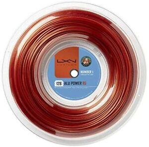 LUXILON Tennis String Gut ALU POWER [Alpower Rough / Fe Single tension (1.15mm)