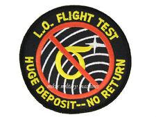 USAF Air Force B-2 Black Ops Area 51 Lo Observables Flight Test Groom Lake Patch
