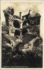Heidelberg Baden Württemberg AK ~1920/30 Partie am Schloß der gesprengte Turm