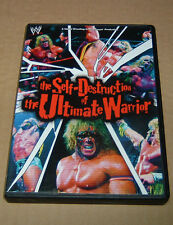 The Self-Destruction of the Ultimate Warrior (DVD, 2002, 1-Disc Set) WWE mint