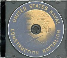 Seabees NCB 31st  Naval Battalion Log WWII on CD RARE CB