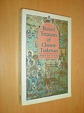 BURIED TREASURES OF CHINESE TURKESTAN. ALBERT VON LE COQ. 1989. PAPERBACK