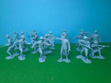 Marx 1/32 scale WWII French Infantry x18 (blue)