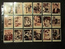 1966 MONKEES Trading Cards LOT of 32 VG+/FN+ Raybert Red Logo