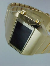 Rare old style modern futuristic 70s seventies space age mens led l.e.d watch 1