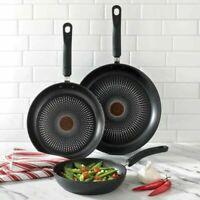 T-Fal Titanium Nonstick Fry Pan Set 3 Piece Cookware Dishwasher/Oven safe