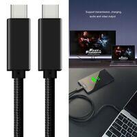 USB 3.1 Daten Kabel 3m Type-C Ladekabel 100W Für Oculus Quest Link Phone Hot