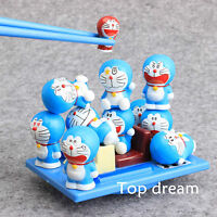 13X Doraemon Balance Family Game PVC Action Figures Set Doll Toy IN Box Cute