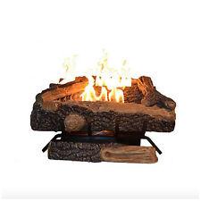 Emberglow Oakwood Vent Free Liquid Propane Gas Fireplace Log Set Heater Logs New