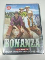Bonanza Serie TV Volumen 14 - 4 x DVD Español Ingles Nueva - 3T