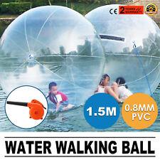150cm Water Walking   Ball Inflatable  Tizip zippe Zorb Ball W/ Blower