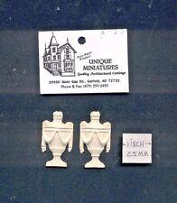 Applique - Egyptian Urn 4pcs - UMA23  polyresin 1/12 scale dollhouse miniature