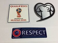 2018 Europe World Cup Russia Qualifier Soccer Football Patch Badge Fair Play Set