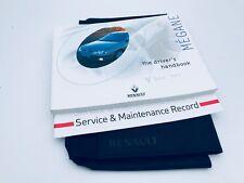 Renault MEGANE Owners Handbook & Service Book Pack 1996 to 2002