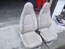 2004 MAZDA MIATA  BEIGE LEATHER SEATS, USED, FITS 1990  to 2005,  OEM