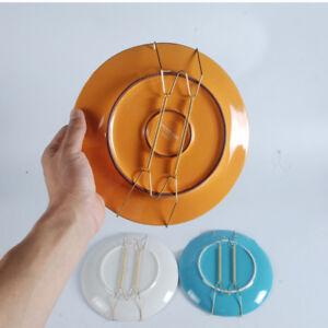 Creative Wall Display Plate Dish Hangers Holder Hanger Home Bar Decor