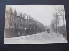 Park Road RPPC UK Postcard