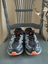 New Balance 510V3 All Terrain Shoes Sneakers Mens 11 black/gray/orange 4E