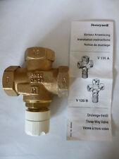 "Honeywell V135-1B Dreiwegeventil 3-Wege-Ventil R 1"" DN25 PN16 Neu OVP"