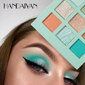 Eyeshadow Cosmetic Makeup Kit Shimmer Glitter Eye Shadow Powder Palette Matte fg