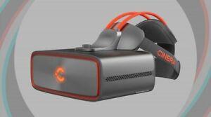 New CINERA Prime 5K Video Glasses Plus Arm & Head-Strap in Space Gray (no duty)