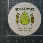 COUNTER WEIGHT BREWING Connecticut Headway circ STICKER decal craft beer brewery