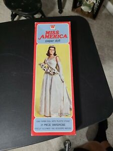 MISS AMERICA PAPER DOLL BOXED SET 1980 WHITMAN
