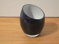 ROSENTHAL *NEW* Bougeoir noir - candlestick hauteur=10cm diamètre=8cm