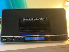 JVC NXPN7 Audio System with Dual iPod Dock with Remote