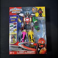 Power Rangers Super Megaforce Deluxe Legendary Megazord Zord Builder MISB w Key