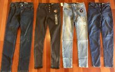 New AEROPOSTALE Juniors Lot Of 4 High-Waist Skinny Jeggings! size 0 Regular NWT