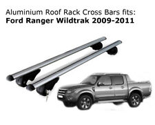 Aluminium Roof Rack Cross Bars fits Ford Ranger Wildtrak 2009-2011