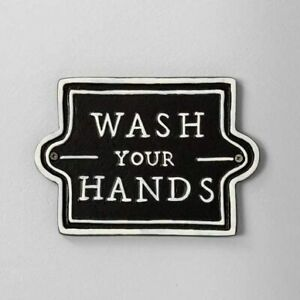 Hearth and Hand with Magnolia Wash Your Hands Sign