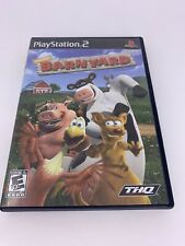 Barnyard (Sony PlayStation 2, 2006) PS2 Complete With Case And Manual, Tested