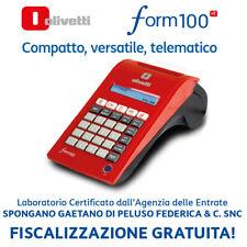 RT Registratore Telematico Cassa OLIVETTI Form 100 ATTIVAZIONE INCLUSA