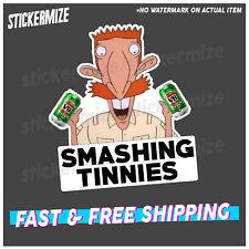 SMASHING TINNIES Sticker Decal Nigel Wild Thornberrys Retro VB YTB Funny Car Ute