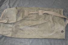 Original Vietnam War U.S. Army Soldier's Named & Well Marked Duffel Bag w/Strap