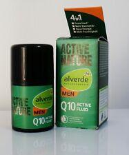 Alverde Active Nature Q10 Men Active Fluid, 50 ml, firms, elasticity, moisture