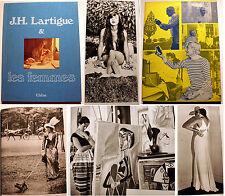 LARTIGUE/ET LES FEMMES/ED DU CHENE/1973/EO/AUTOCHROMES/PHOTOGRAPHIES