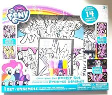 MY LITTLE PONY - Color Your Own POSTER SET of 14 Art Craft Toys and 4 Markers