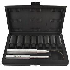 Locking Wheel Nut / Bolt / Hub Cap Removal / Re Placer Kit 18-25mm 10pc At248