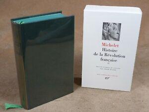 LA PLEIADE :  MICHELET - HISTOIRE DE LA REVOLUTION FRANCAISE 2  / 1989