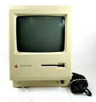 Vintage Apple Macintosh Plus 1MB Computer Model M0001A - Not Fully Tested