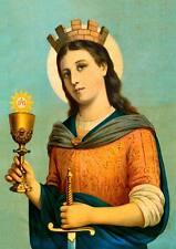 Heilige Barbara Schutzheilige Nothelfer Bergleute St. Bütten Sankt A3 0095