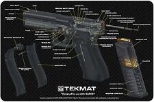 Pistolet Cut Away ARMOURER Pistolet Nettoyage Néoprène Bench Mat par TekMat pour GLOCK 17