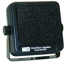MFJ-281 Clear Tone Speaker for Mobile Radios with Mounting Bracket and 6' Cord