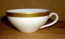 Arzberg  1 Teetasse weiß, Goldrand